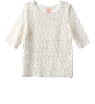 Collette Dinnigan Collette by Daisy chain lace top