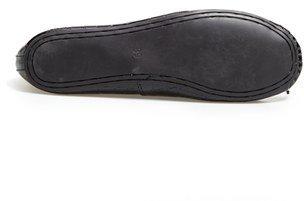 Topshop 'Vibrant' Croc Embossed Ballet Flat