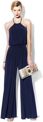 Vince Camuto Jumpsuit With Metal Neckline
