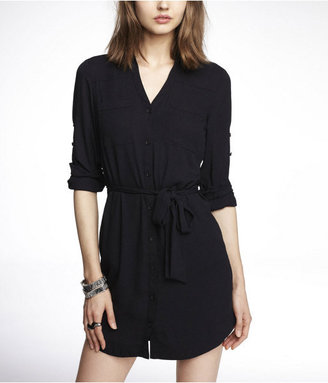 Express The Portofino Shirt Dress