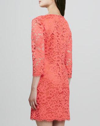 Trina Turk Geddes Scalloped Lace Dress