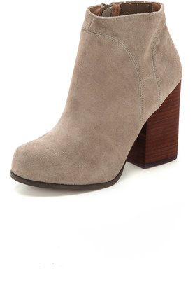 Jeffrey Campbell Hanger Suede Booties $155 thestylecure.com