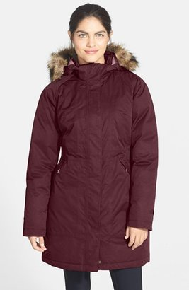 The North Face 'Arctic' Down Parka with Removable Faux Fur Trim Hood $299 thestylecure.com