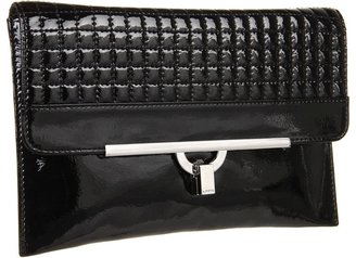 Lodis Beverly Blvd Ramona Envelope Clutch (Black) - Bags and Luggage