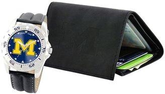 Michigan Wolverines Watch & Wallet Gift Set