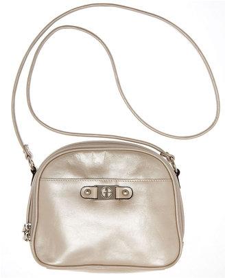 Bernini Giani Handbag, Glazed Leather Dome Crossbody