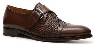 Ralph Lauren Doncaster Woven Leather Monk Slip-On
