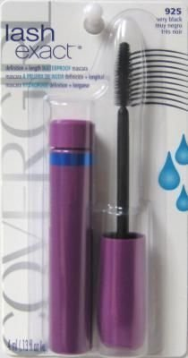 COVERGIRL Lashexact Mascara Waterproof Very Black 925, 0.13 Oz, 0.130-Fluid Ounce $7.65 thestylecure.com