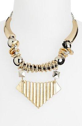 Topshop 'Thread Loop' Collar Necklace