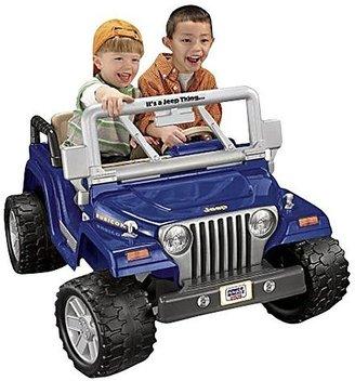 Fisher-Price Power Wheels Jeep Wrangler Rubicon