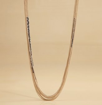 Martin + Osa Multi-Strand Nugget + Chain Necklace
