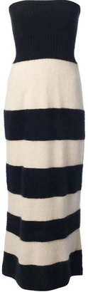 Tsumori Chisato knitted bandeau maxi dress