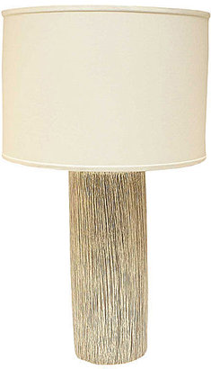 JCPenney Ceramic Cylinder Table Lamp
