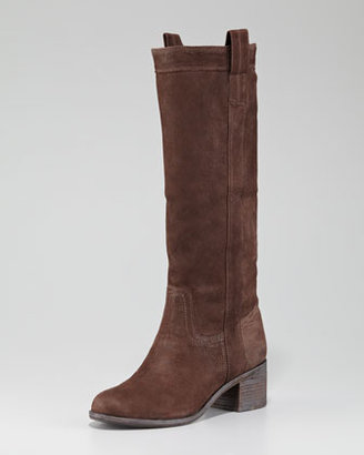 Eileen Fisher Cuffable Nubuck Boot