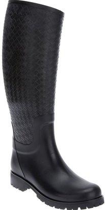 Bottega Veneta intrecciato weave boot