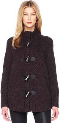 Michael Kors Toggle-Front Cape Cardigan