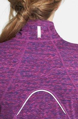 Zella 'Good Sport' Space Dye Half Zip Pullover
