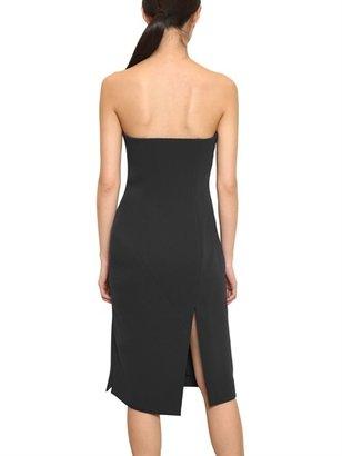 Jil Sander Sleeveless Techno Double Crepe Dress