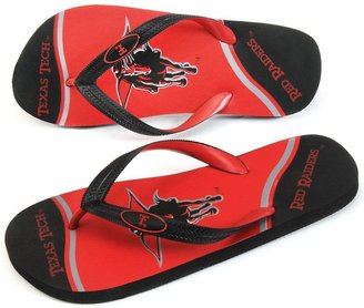 JLO by Jennifer Lopez Texas tech red raiders zori flip-flops - adult
