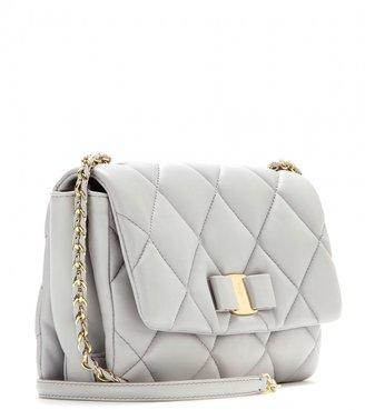 Salvatore Ferragamo Gelly quilted leather shoulder bag