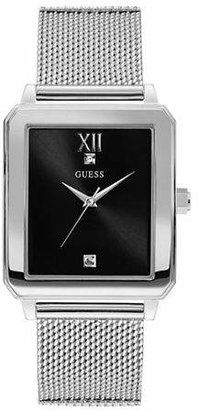 GUESS Work Life Collection Stainless Steel Mesh Bracelet Watch