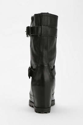 Kelsi Dagger Vanna Hidden Wedge Moto Boot