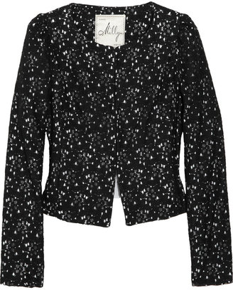 Milly D'orsay floral lace jacket