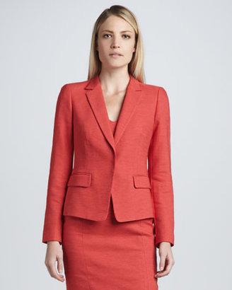 DKNY Notched Collar Jacket