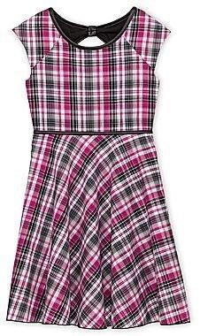 Speechless Plaid Dress - Girls 6-16