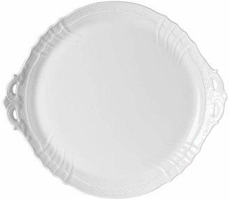 Richard Ginori Vecchio White Cake Plate with Handles