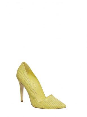 Alice + Olivia Dina Leather Heel