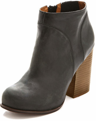 Jeffrey Campbell Hanger Leather Booties $165 thestylecure.com