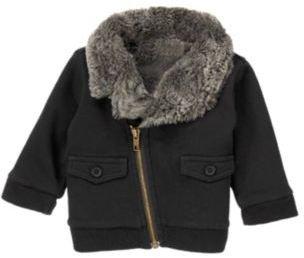 Crazy 8 Faux Fur Lined Jacket