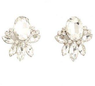 Charlotte Russe Rhinestone Cluster Stud Earrings