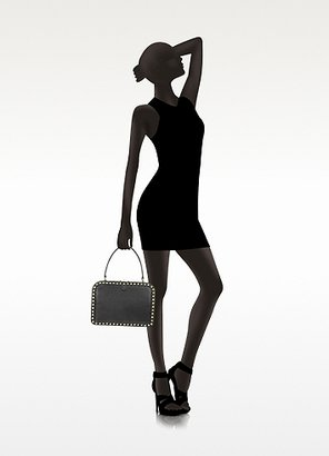 Valentino Garavani Rockstud Frame Leather Handbag