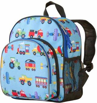 Olive Kids Wildkin Trains, Planes & Trucks Pack 'n Snack Backpack - Kids