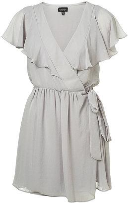 Topshop Frill Wrap Dress