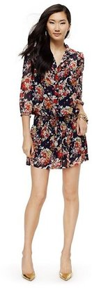 Juicy Couture Georgette Floral Drop-Waist Dress