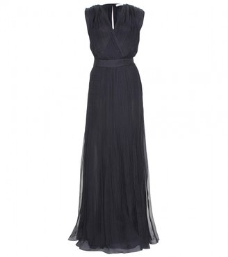 Chloé CREPE PLEATED GOWN