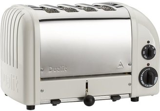 Dualit NewGen Canvas White 4-Slice Toaster