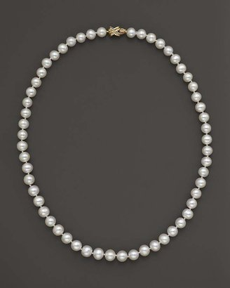 """Bloomingdale's Cultured Freshwater 8mm Pearl Strand Necklace, 20"""""""