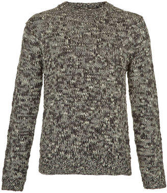 Topman Black And White Sweater