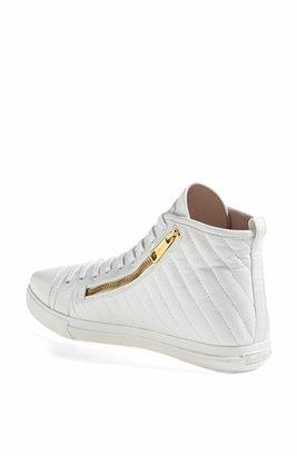 Miu Miu Side Zip High Top Sneaker
