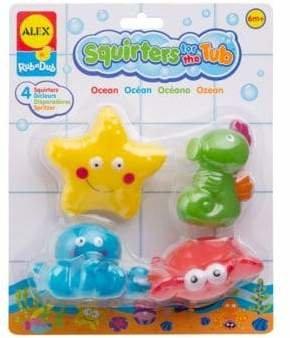 Alex Ocean Bath Squirters Tub Toy Set