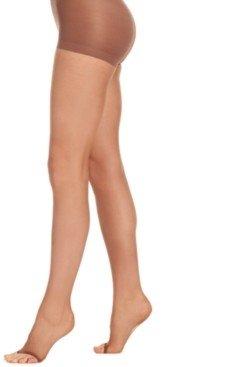 Hanes Women's Silk Reflections Ultra Sheer Control Top Run Resistant Toeless Pantyhose Sheers 0B376