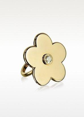 Margherita Colucci Diamonds 0.40 ctw Gold Ring