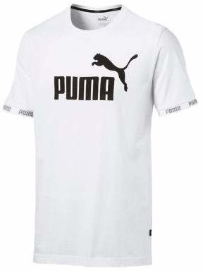 Puma Amplified Big Logo Cotton Jersey Tee