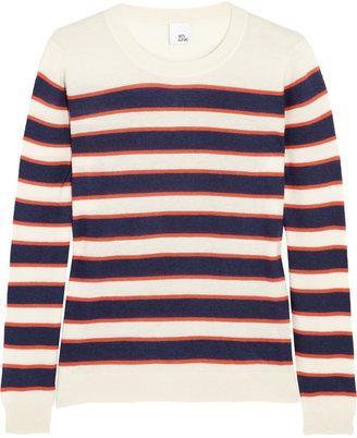 Iris & Ink Alaina striped cashmere sweater