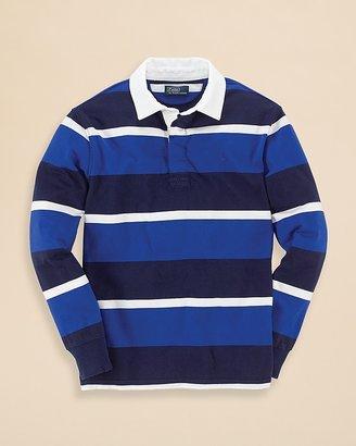 Ralph Lauren Boys' Striped Rugby Tee - Sizes S-XL