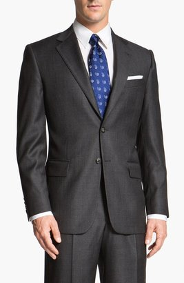 Joseph Abboud 'Signature Silver' Wool Suit (Online Only)